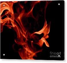 Fire Petals Acrylic Print