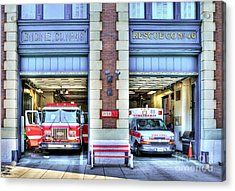 Fire Station Number 46 Acrylic Print