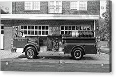 Fire Truck Acrylic Print by Paul Seymour