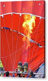 Fire Up Acrylic Print by Brian Roscorla