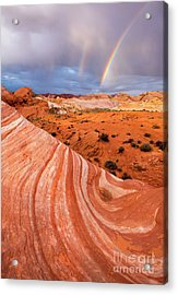 Fire Wave Covenant Acrylic Print