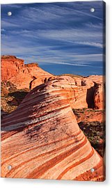Fire Wave Acrylic Print by Tammy Espino