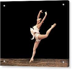 Firebird Ballet Position Acrylic Print