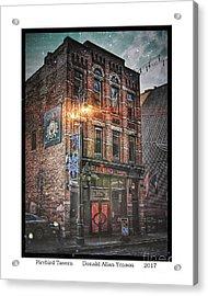 Firebird Tavern Acrylic Print by Donald Yenson