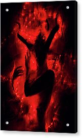 Fireborn Acrylic Print