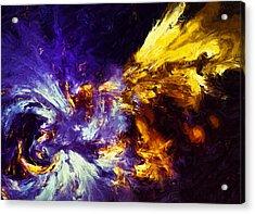 Firefly Abstract Acrylic Print