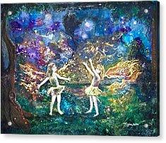 Firefly Frolic Acrylic Print by Patricia Allingham Carlson
