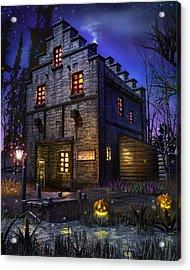 Firefly Inn Acrylic Print