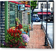 Firefly Lane Bar Harbor Maine Acrylic Print