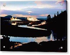 Firehole River 2 Acrylic Print