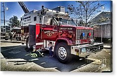 Firemen Honor And Sacrifice #1 Acrylic Print