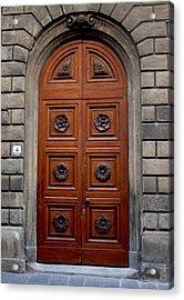 Firenze Door Acrylic Print