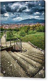 Firenze From The Boboli Gardens Acrylic Print