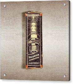 Firestone Polonium Electrodes Box Acrylic Print