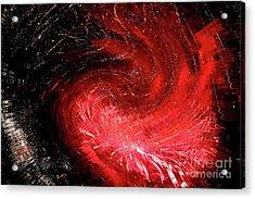 Firestorm Acrylic Print by Sheila Ping