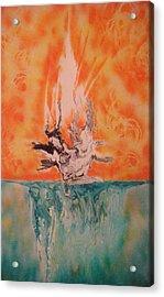 Firewater Acrylic Print