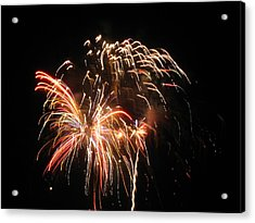 Firework 1 Acrylic Print by Michael Albright