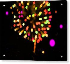 Firework Acrylic Print