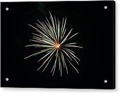 Fireworks 002 Acrylic Print by Larry Ward