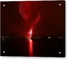 Fireworks 26 Acrylic Print