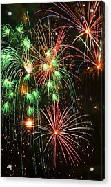 Fireworks 4th Of July Acrylic Print