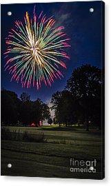 Fireworks Beauty Acrylic Print