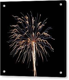 Fireworks From A Boat - 13 Acrylic Print