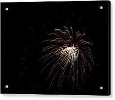 Fireworks From A Boat - 3 Acrylic Print