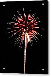 Fireworks From A Boat - 4 Acrylic Print
