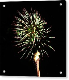 Fireworks From A Boat - 8 Acrylic Print