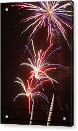 Fireworks Acrylic Print by Heather Green