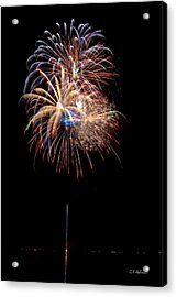 Fireworks IIi Acrylic Print by Christopher Holmes