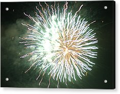 Acrylic Print featuring the digital art Fireworks In The Park 4 by Gary Baird