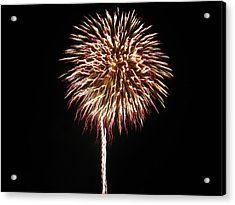 Fireworks Acrylic Print by Michael Albright