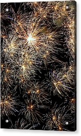 Acrylic Print featuring the photograph Fireworks by Suzanne Stout