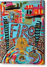 Firo The Dancer Acrylic Print by Maggis Art