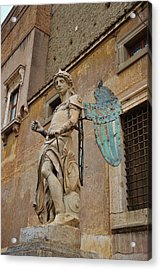 First Angel Acrylic Print by JAMART Photography