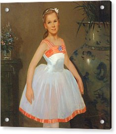 First Ballet  Nyc    Nutcracker Acrylic Print by David Olander