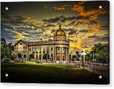 First Baptist Church Of Tampa Acrylic Print