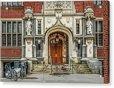 Acrylic Print featuring the photograph First Campus Center Princeton University by Susan Candelario