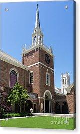 First Congregational Church Of Berkeley California Dsc6220 Acrylic Print