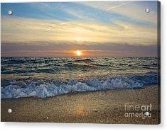 First Encounter Beach Acrylic Print