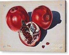 First Fruits I Acrylic Print by Ilse Kleyn
