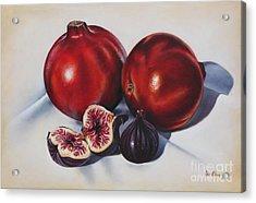 First Fruits II Acrylic Print by Ilse Kleyn