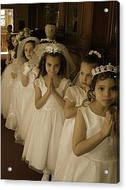 First Holy Communion Acrylic Print