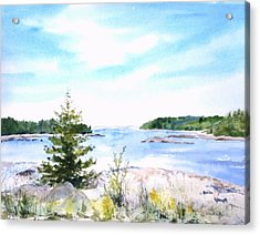 First Impressions, Maine Acrylic Print