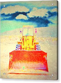 Acrylic Print featuring the photograph First In  by Mark Ross