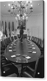 First Lady Betty Ford Dances Acrylic Print by Everett