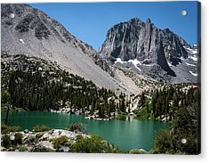 First Lake Afternoon Acrylic Print by Scott Cunningham