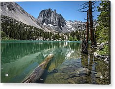 First Lake Reflection Acrylic Print